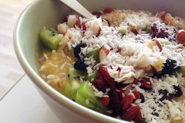 fruktgröt rawfood recept