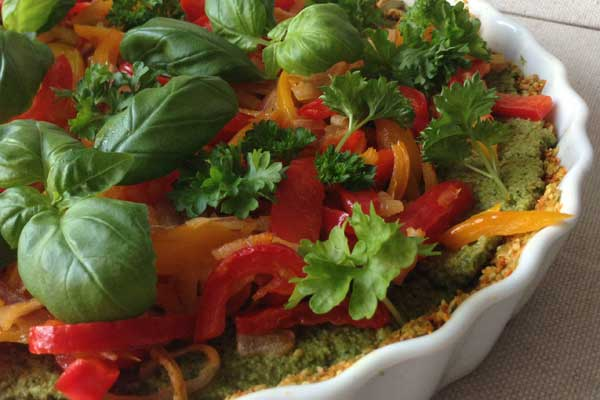 ljuvlig och matig rawfood paj recept