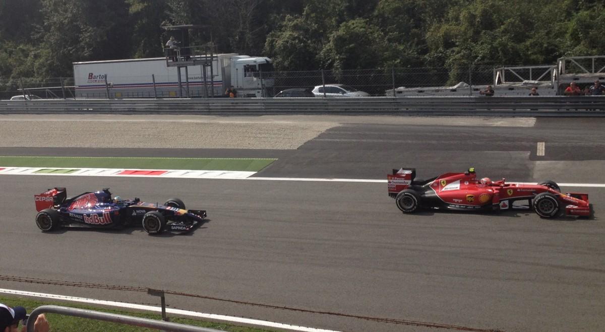Fantastisk dag på Monza – tävlingsdag i Formel 1