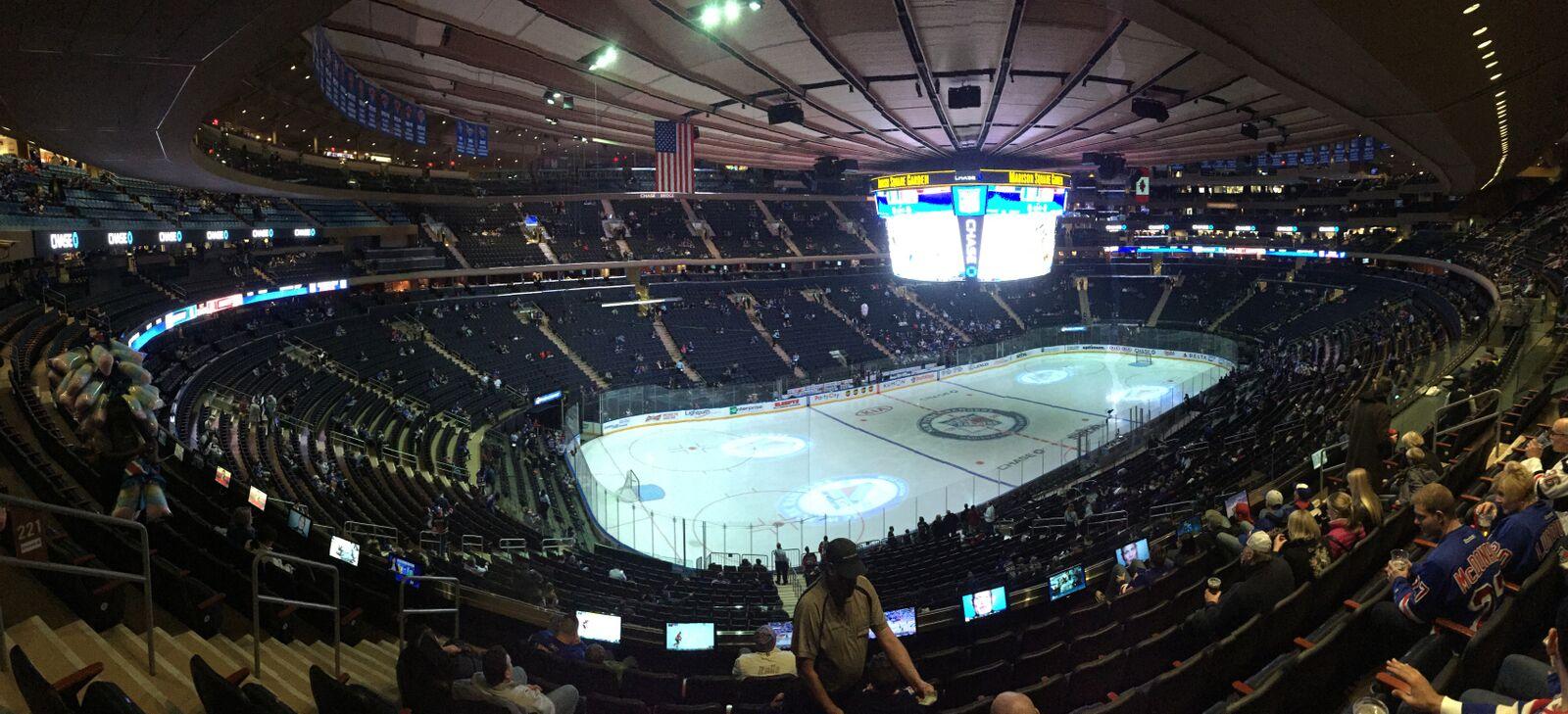 Henke i kassen i New York Rangers