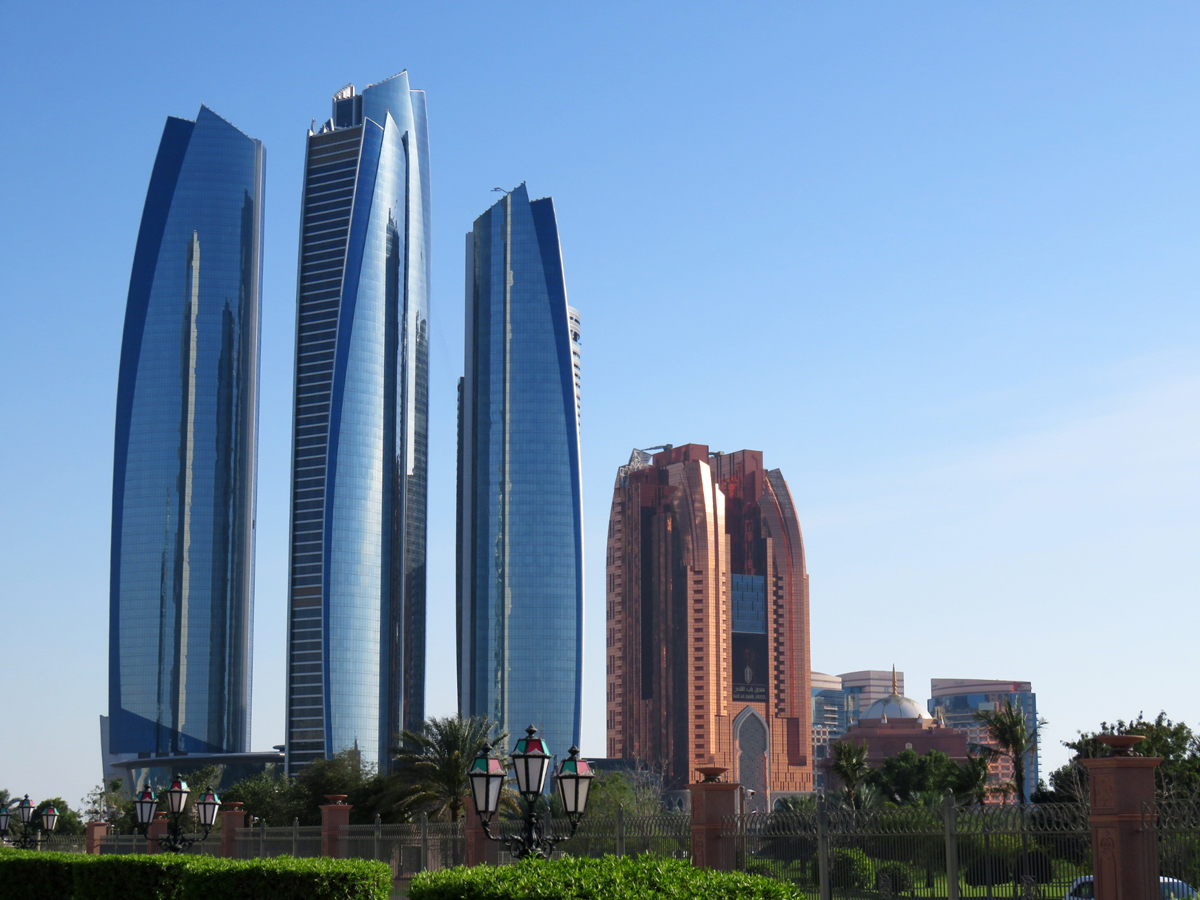 abu-dhabi-skyskrapor