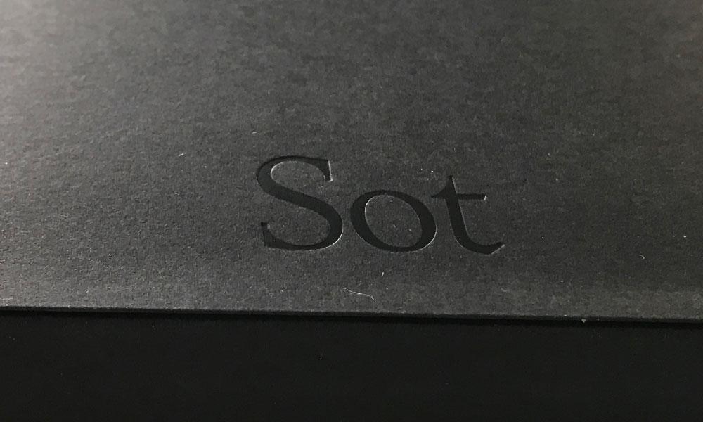Sot – den fina svarta anteckningsboken