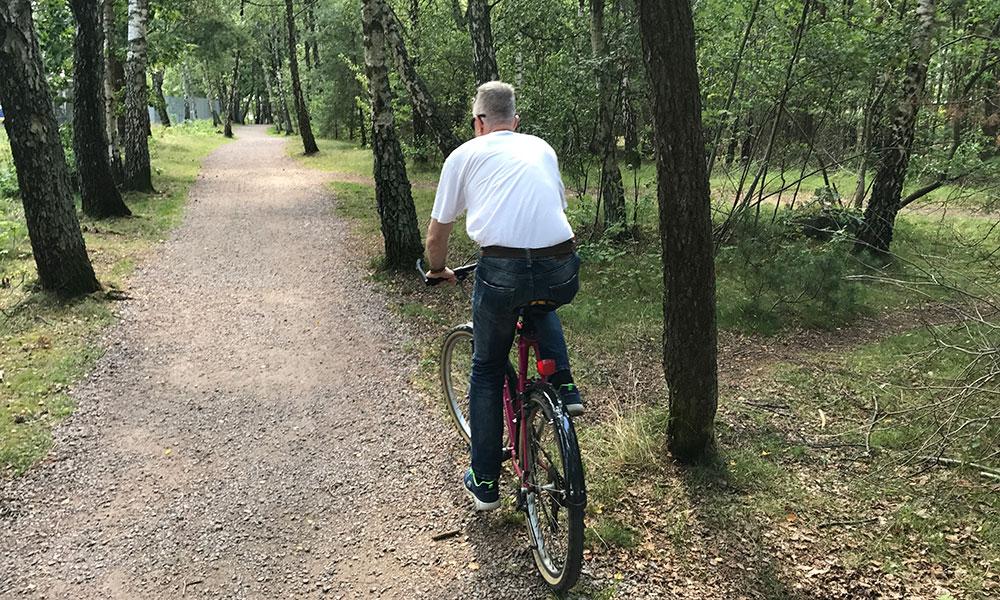 cykelväg halmstad prins bertils stig
