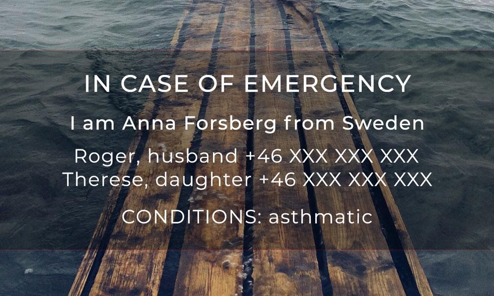 In Case of Emergency – fixa det på din telefon