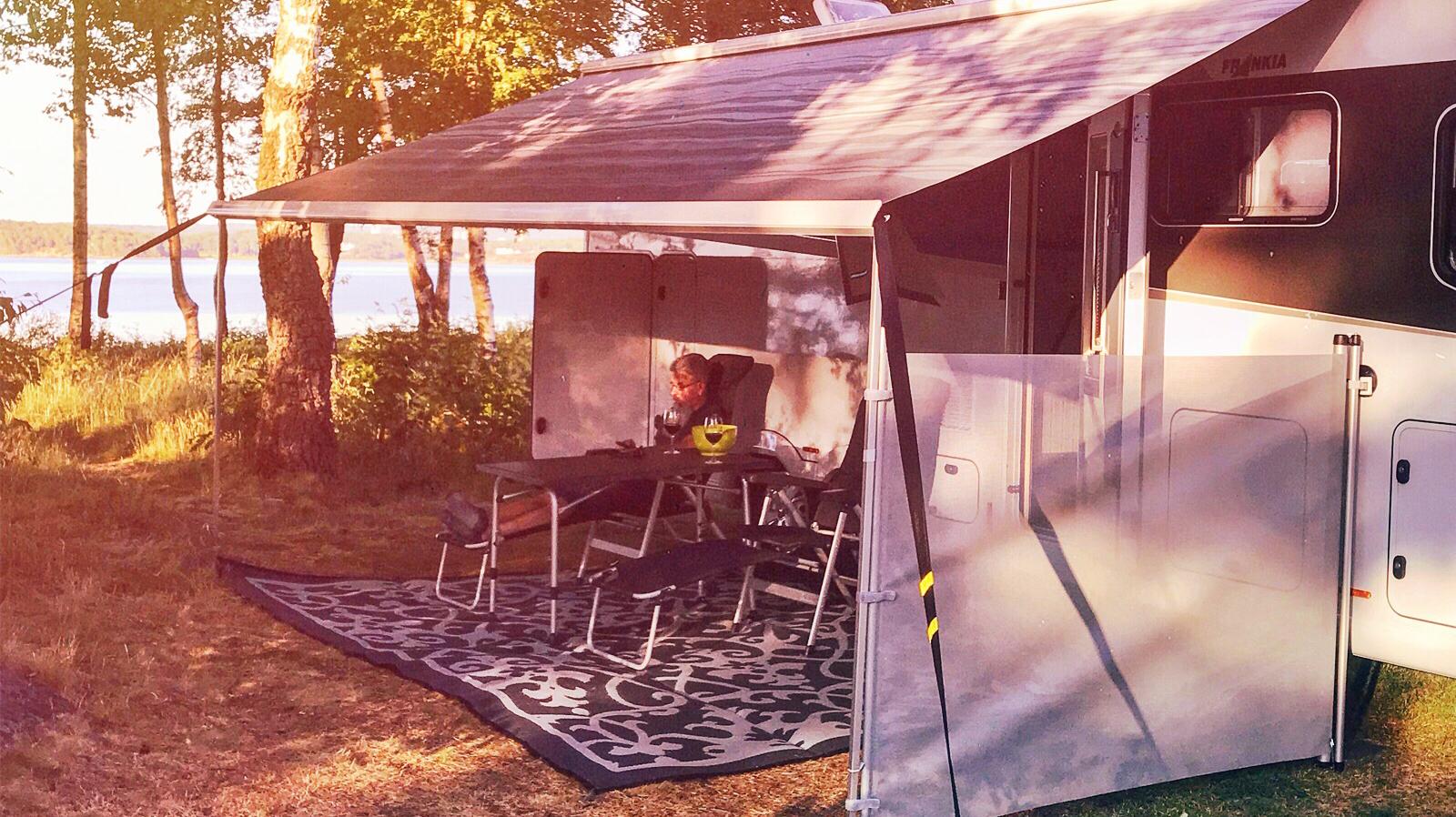 Camping är inte så dumt ändå