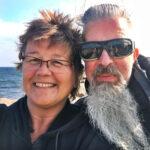 Anna och Roger bo i husbil