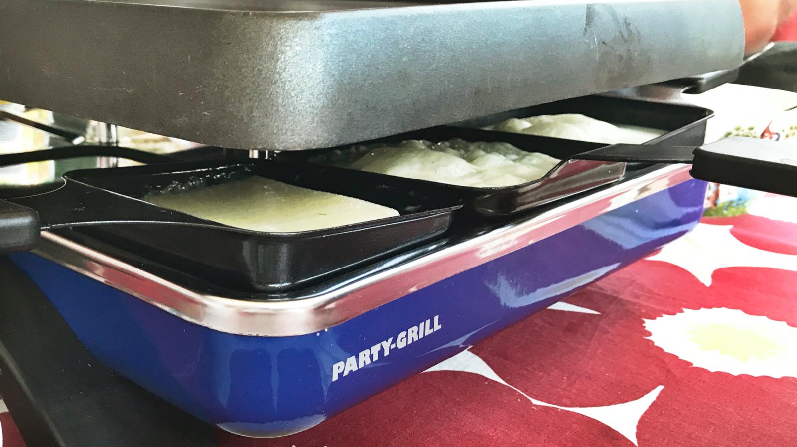 Varmaste dygnet raclette