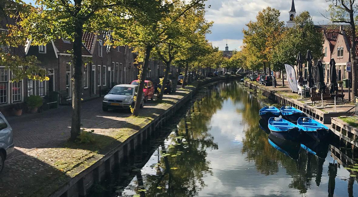 Mysigt och gott i Edam-Volendam