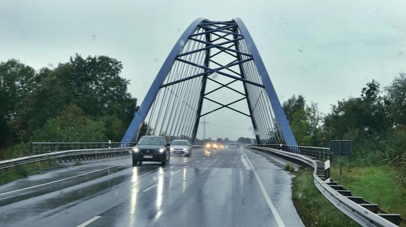 väder Tyskland nederländerna