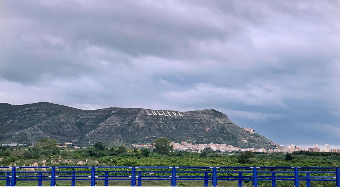 berg i spanien