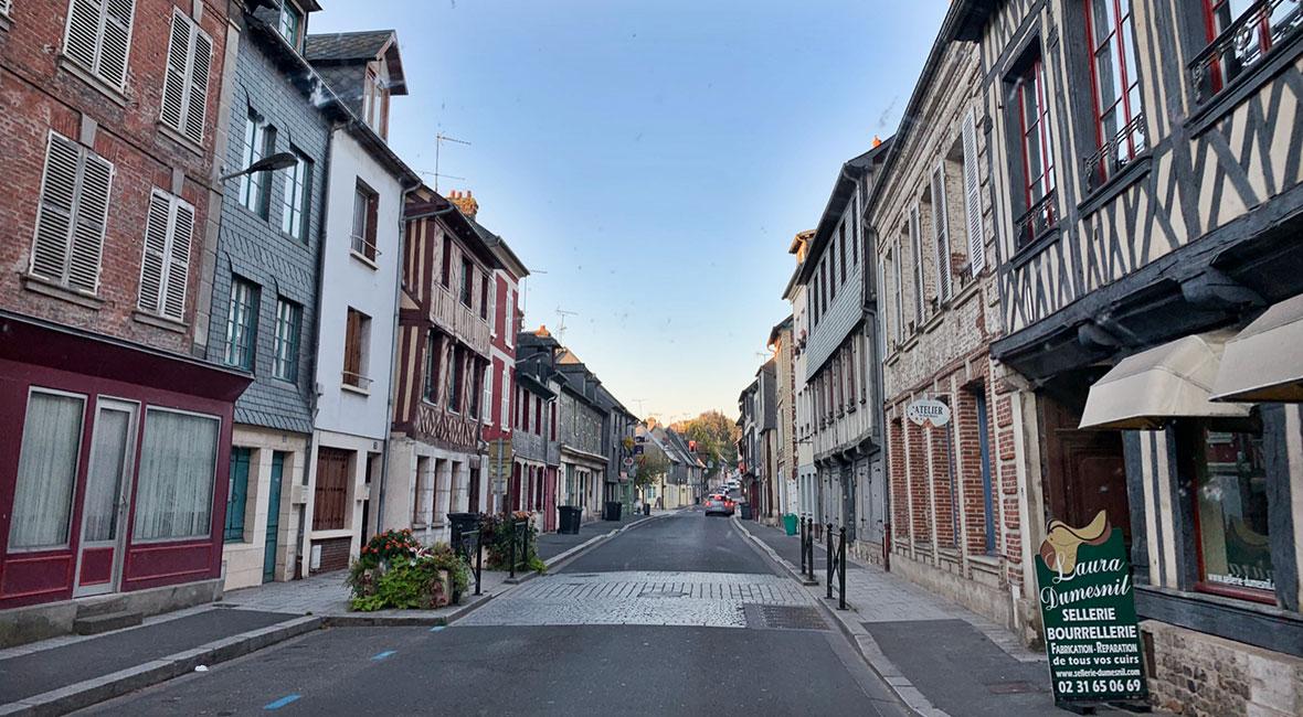 pittoresk by I Frankrike