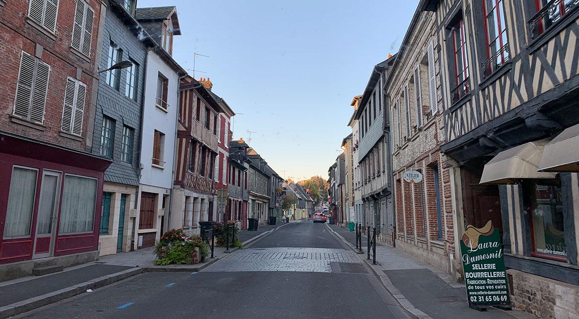 Frankrikes byar