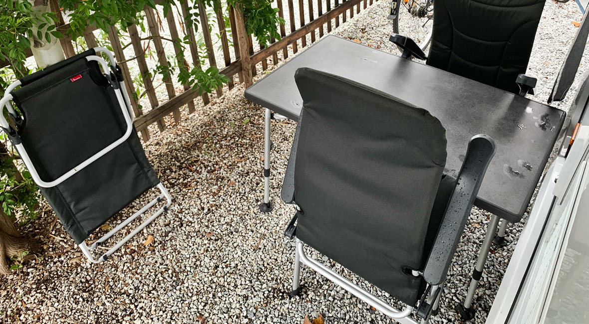 blöta stolar