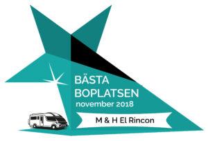 bästa boplatsen i november 2018