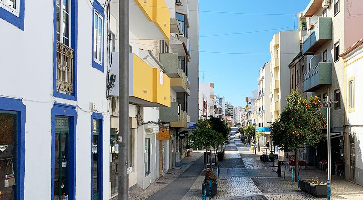 Färgglada portugal