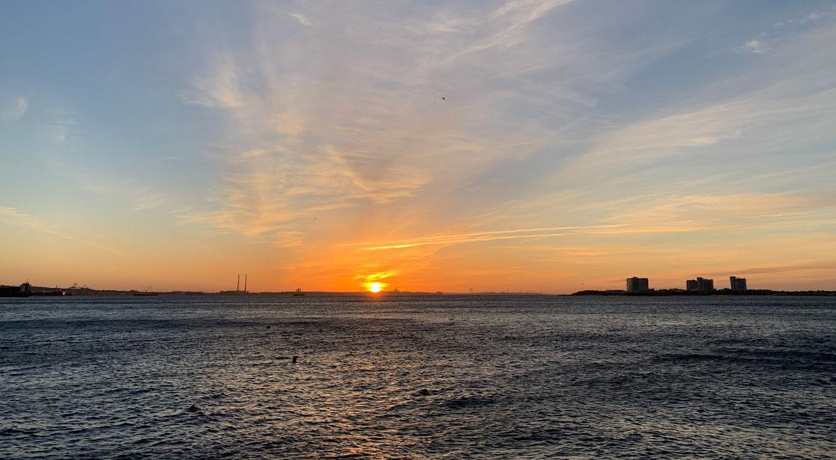 solnedgång Setubal