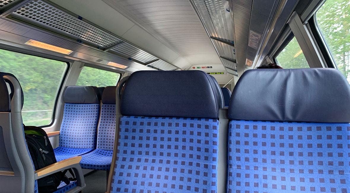 Vill resa mer med tåg
