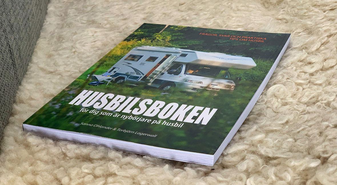 Tre böcker om husbilslivet & tävling