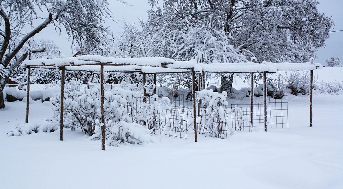Bo i husbil på vintern i Sverige