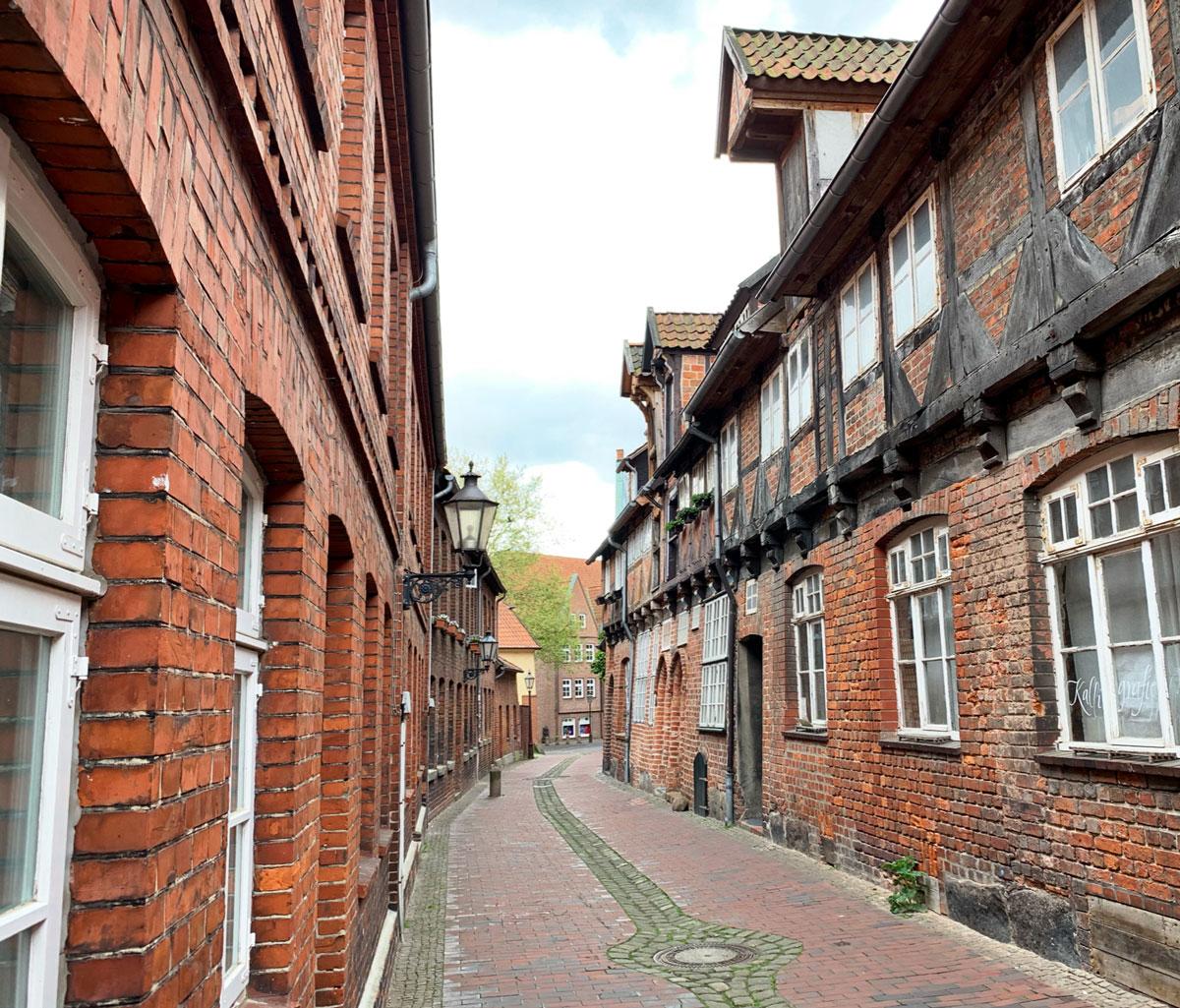 gamla hus i lüneberg