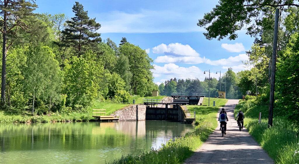 Göta kanal cykelled