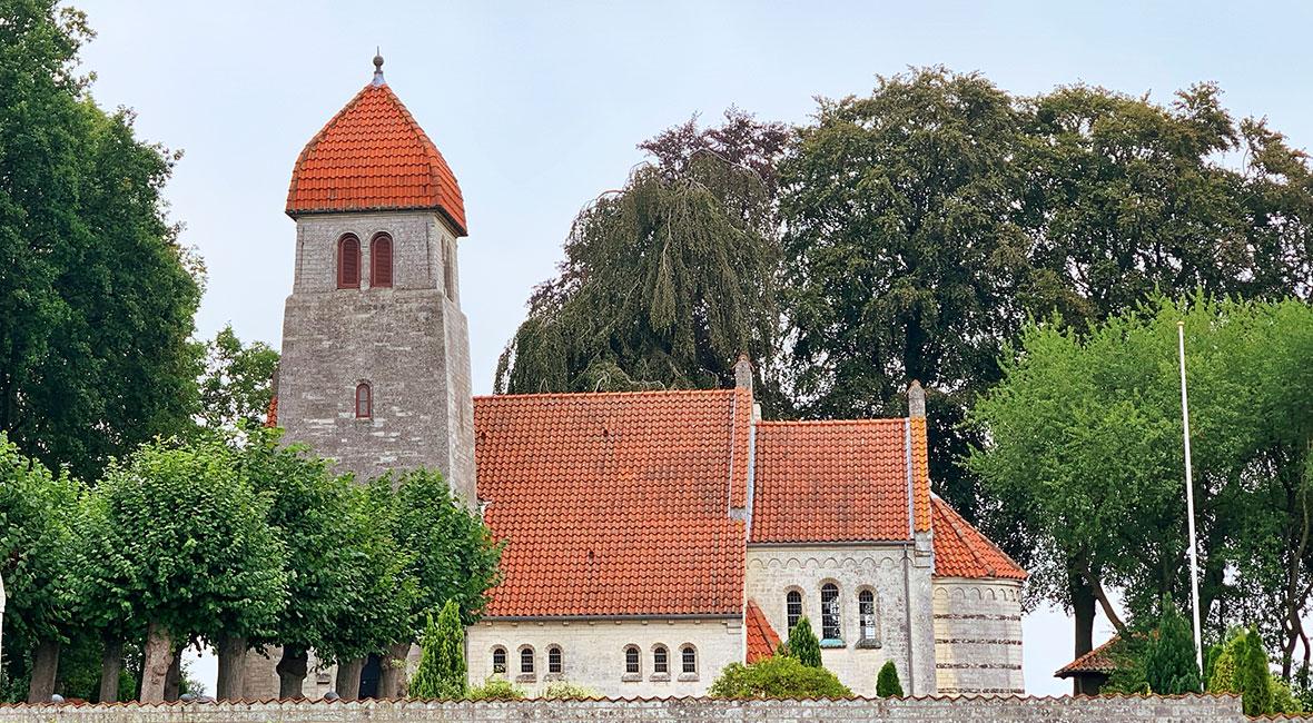 Højerup nya kyrka
