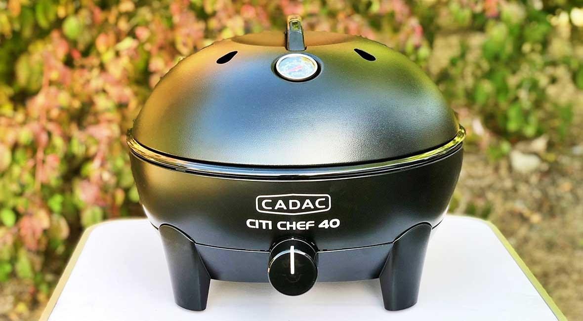 Utvärdering av vår CADAC grill