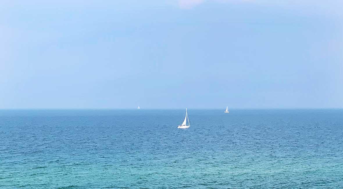 forna Östtyskland hav