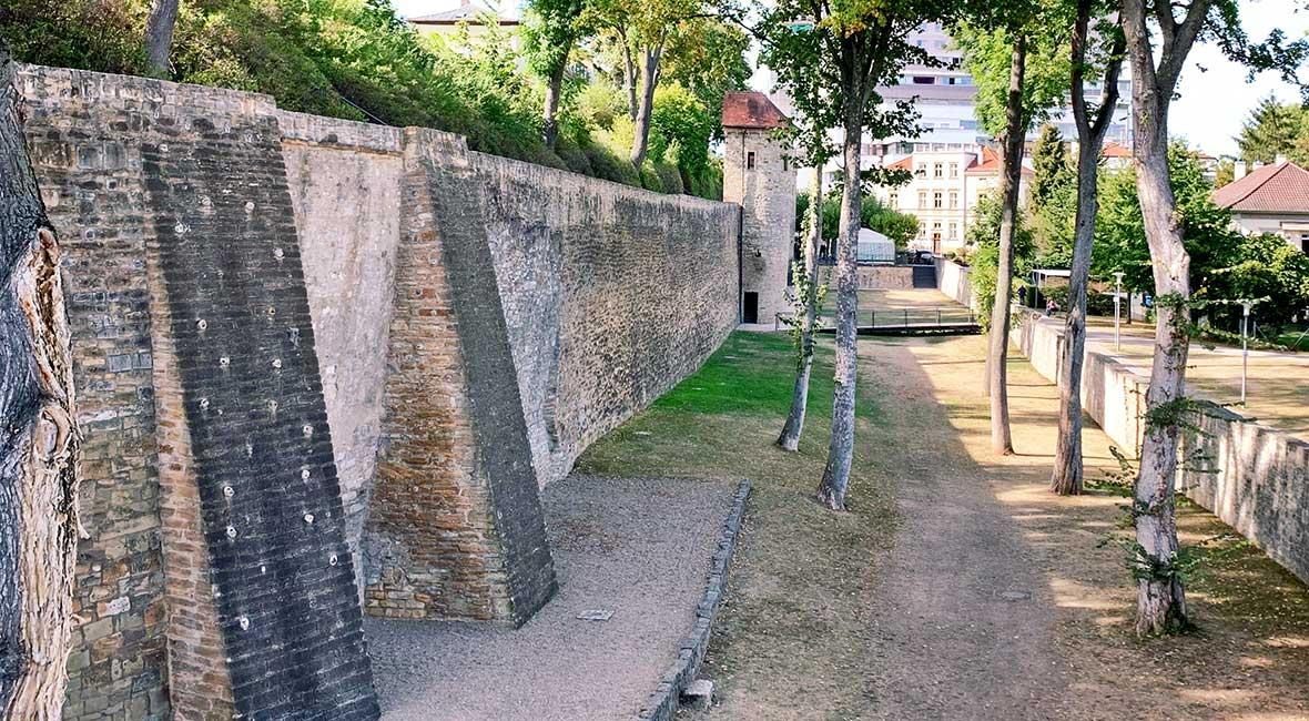 Schweinfurt. stadsmur
