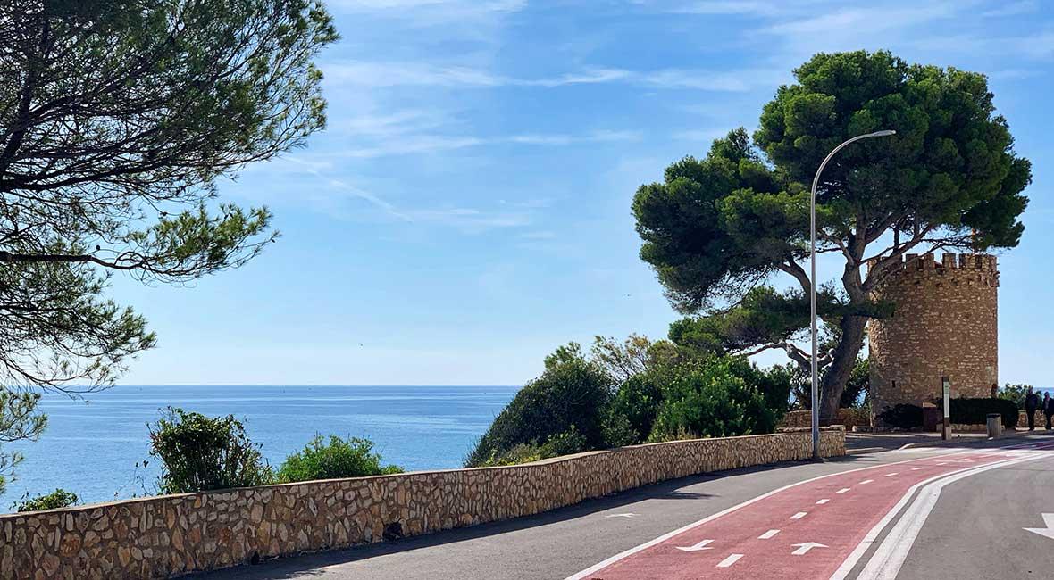 cykelväg spanien