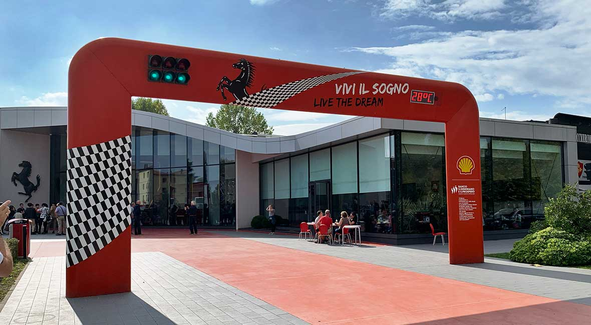 Båge Ferrari Museum