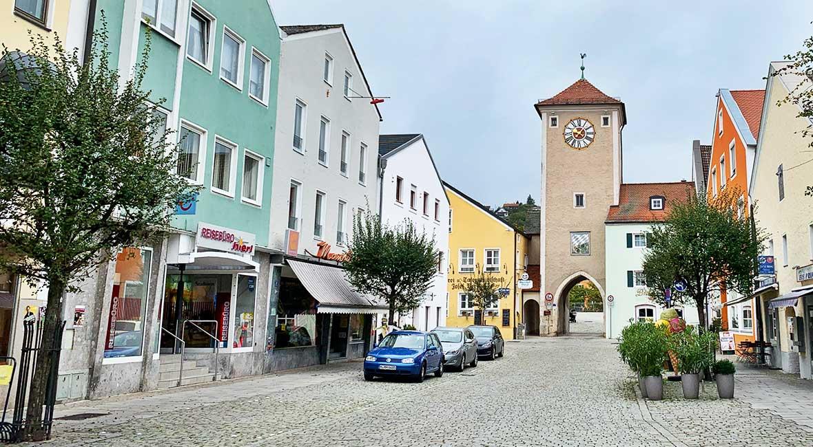 Kelheim torn Altstadt