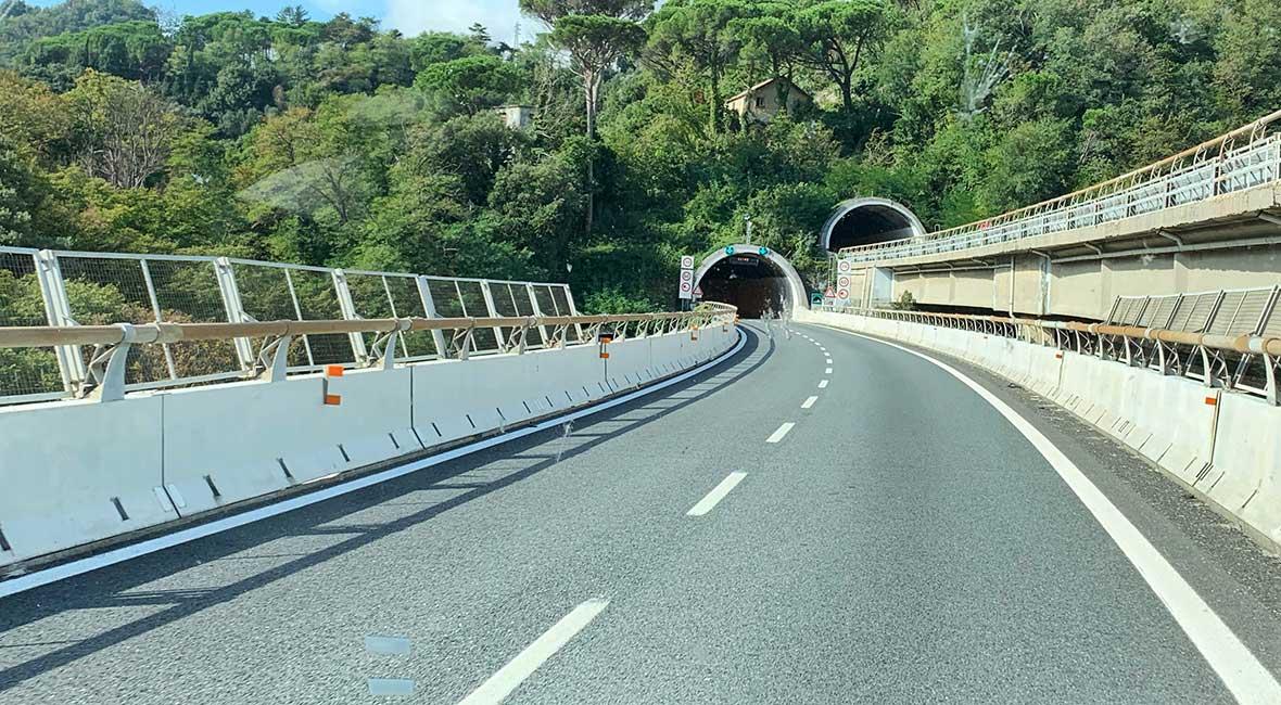 tunnlar i Italien