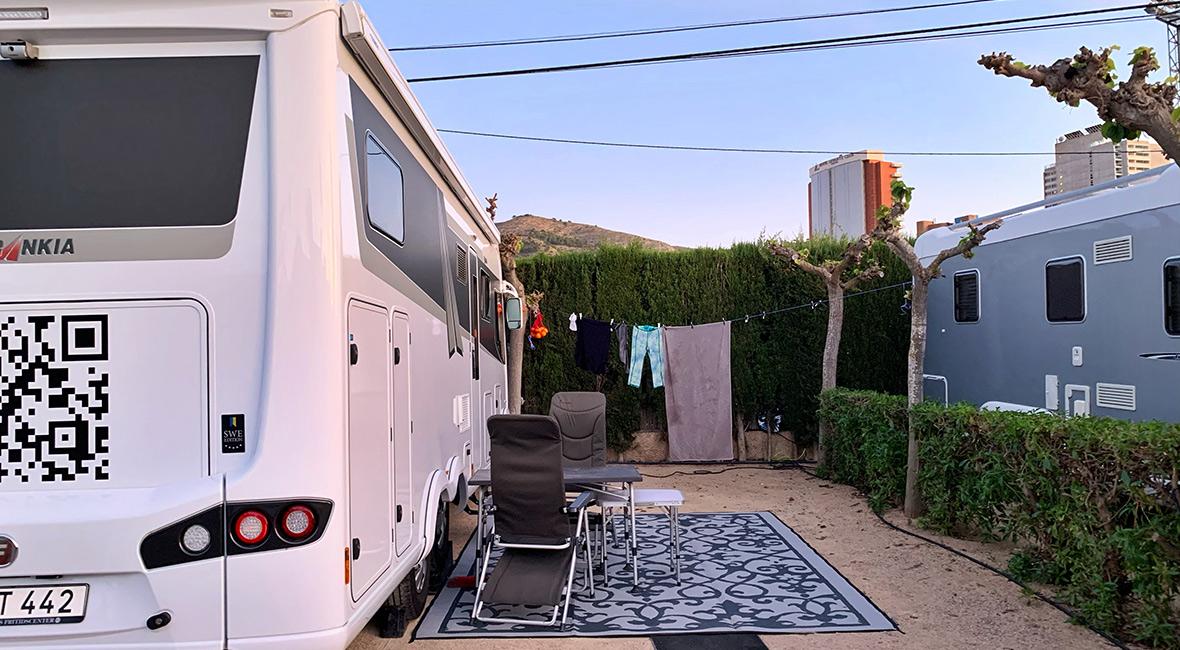 Villasol Camping i Benidorm