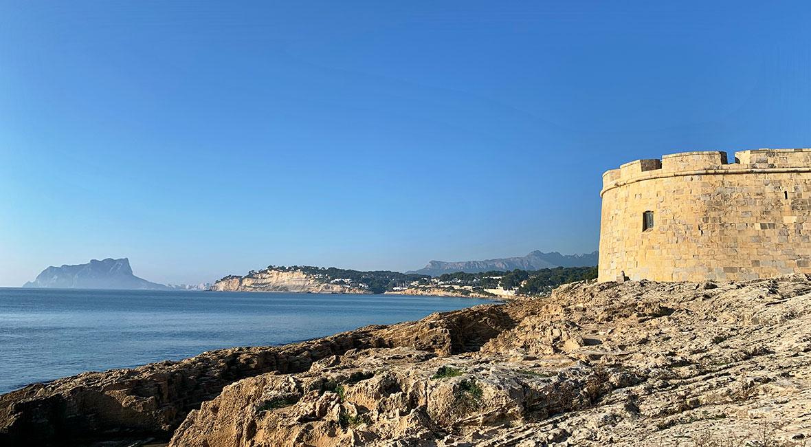 Spaniens medelhavskust, lika men ändå olika