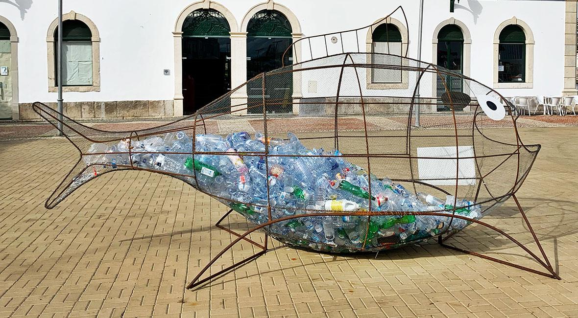 Tavira plastfisk