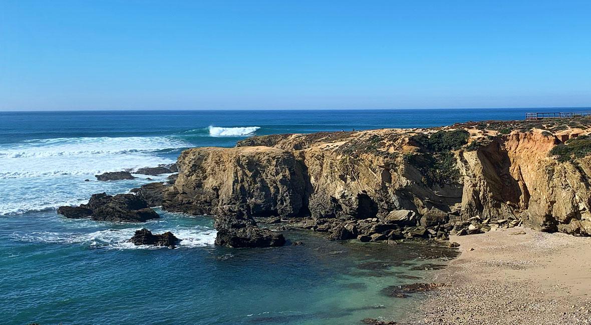 surfas i Porto Covo