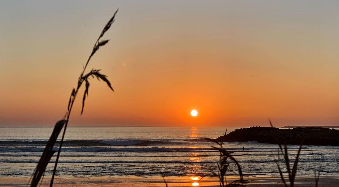 solnedgång portugal