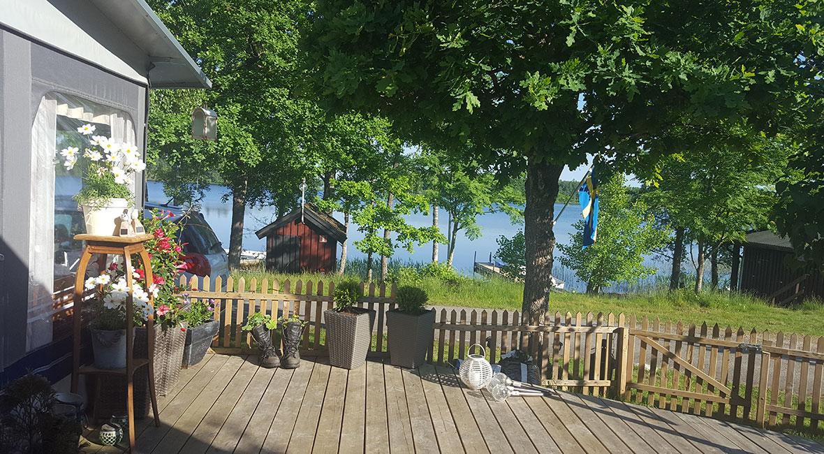 utsikt camping