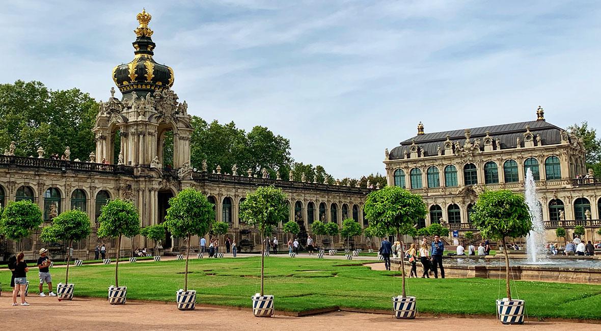 Dresden vill vi återvända till