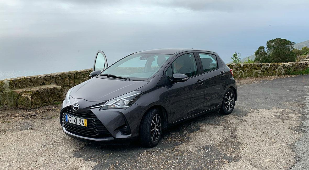 Hyra bil billigt i Portugal