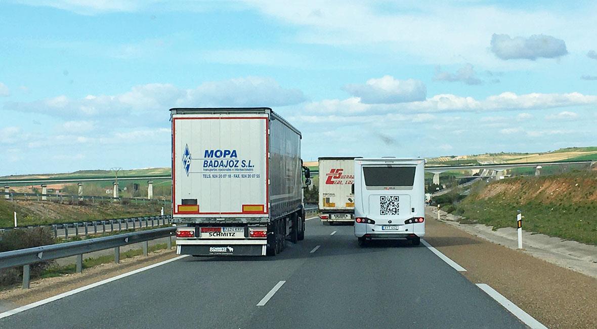 80 mil genom Portugal och Spanien