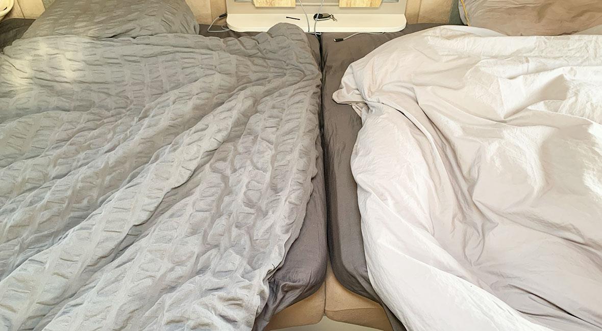 Sängen sitter ihop