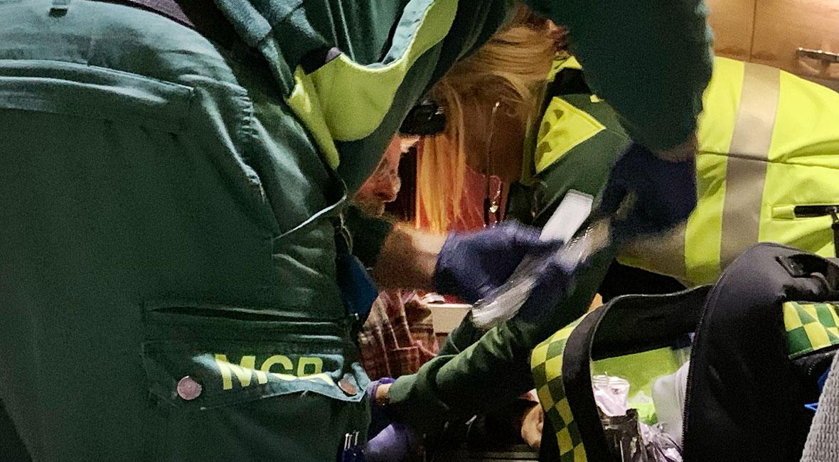 ambulans fotö