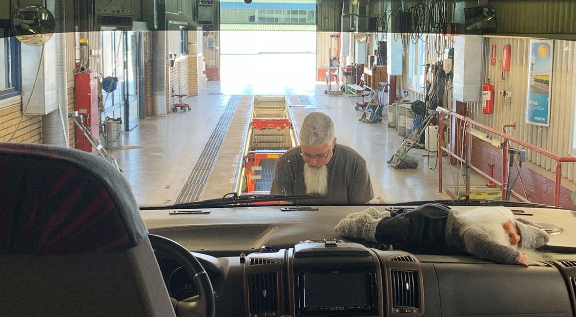 Alla årliga kontroller på husbilen klara