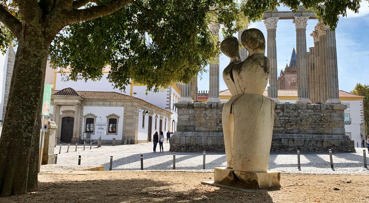 Bilder från vårt andra besök i Évora