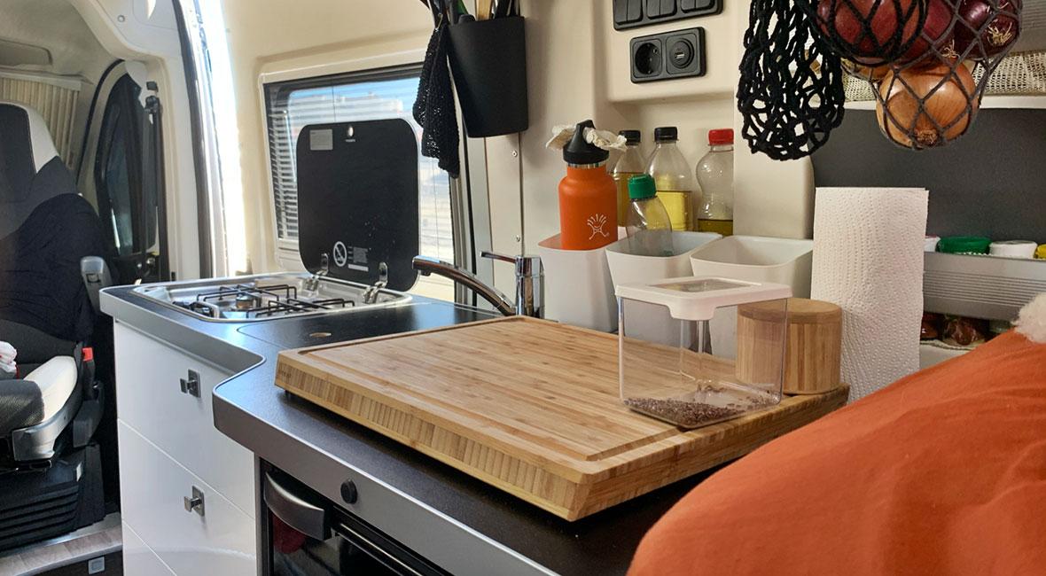 Köket -> plåtis kontra husbil del 3