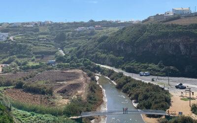 Västkusten i distriktet Lissabon