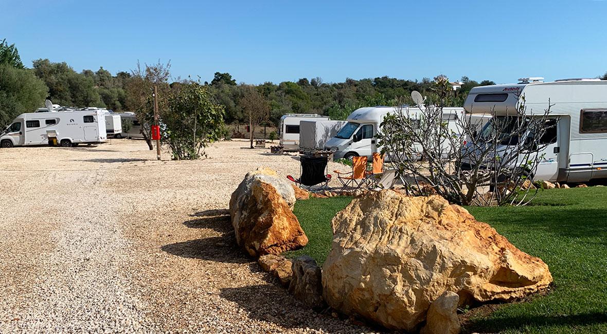 Ställplats nära Formel 1 i Portimaõ