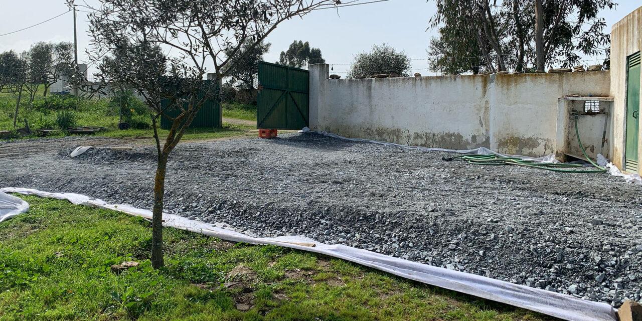 Projekt: Göra en parkeringsplats